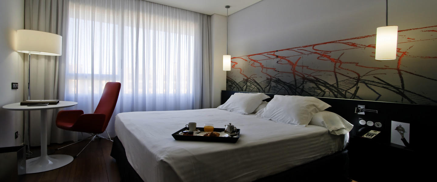Axor Barajas Hotel Madrid 4* Rooms
